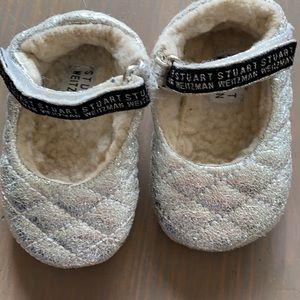 Size 2 Stuart Weizman Baby Girl Shoes